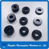 スムーズなナイロンスペーサの洗濯機の黒PVCプラスチック平らなガスケット