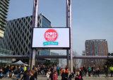 Écran de visualisation visuel polychrome de la publicité extérieure de l'écran P8