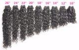 Mongolei-Franzosen bewegen unverarbeitetes Jungfrau-Haar für persönlichen Gebrauch wellenartig (Grad 9A)