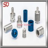 Präzisions-Schwarzes anodisierte Aluminium CNC-Prägeteile