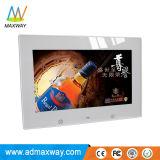 Фотоие Download голубого изображения рамки фотоего цифров обязанности батареи 10 дюймов видео- (MW-1026DPF)