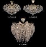 Esszimmer-klassische Art-Verzierungs-hängende Lampe (7731-10G)