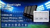 Luces de inundación delgadas estupendas blancas del programa piloto IP65 50With150W 200W LED del MW de la viruta de Philips
