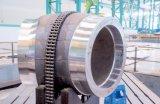 Großes Form-Stahl-Roheisen-Sand-Gussteil mit CNC-Maschinerie-Teil