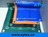 Cubierta de lona de PVC resistente al agua para la carretilla
