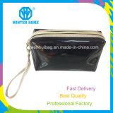 Les dames façonnent le grand sac de produit de beauté de course de PVC de miroir de bouche