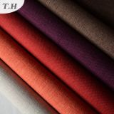 Helles Farben-Polyester-normaler Leinenpolsterung-Sofa-Gewebe-Großverkauf 2015