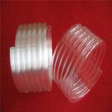 Tube de verre spiralé opaque de quartz de tube de quartz