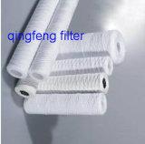 Cartouche filtrante de blessure de chaîne de caractères pour le traitement des eaux