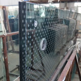 Bâtiment de haute performance reflète l'impression numérique en céramique de Texture fritte Tined trempé de sécurité en verre feuilleté