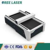 Fabrik geben direkt CO2 Laser-Flachbettausschnitt und Gravierfräsmaschine an