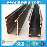 Aufbau-Aluminiumfenster-Profil der Herstellungs-6063 T5 zu Italien kundenspezifischer Größe/zu Farbe