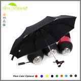 中国の新製品3のフォールドLEDの傘の工場