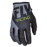 Fly Racing кинетических мужская Mx внедорожного перчатки черный/серый