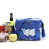 Bolso aislado del refrigerador del almuerzo de la oficina portable con el sostenedor de botella