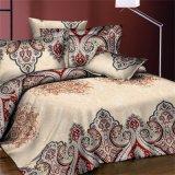 ジャカード織り方綿またはポリエステル明白な織り方の寝具セット