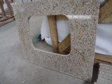 Bordillos del granito del amarillo de la losa del azulejo del granito de China G682