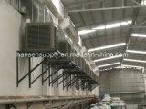壁屋根によって取付けられる水冷却の18000m3/H蒸気化クーラー/Chiller