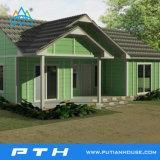 Villa de acero de la luz de Casa como prefabricados modulares Village Resort edificio