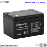 China-Leitungskabel-Säure-Batterie 12V10ah, für UPS/Alarm/Lighting