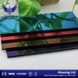 Matériau de construction incombustible Partition mural panneau composite aluminium