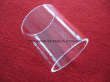 Transparente Cristal de sílice fundida de la brida de anillo de cristal de cuarzo.