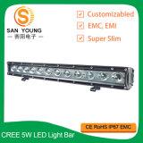 60W 20inch LED weg vom Straßen-hellen Stab 6000K 5100lm für 4X4 Fahrzeug LED weg von Straßen-fahrendem hellem Stab