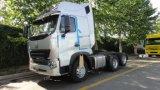 Sinotruk HOWO A7 6X4のトラクターはトレーラーのヘッド420HPエンジンをトラックで運ぶ