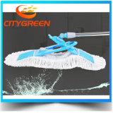 Lavette plate de Microfiber de torsion populaire de nettoyage