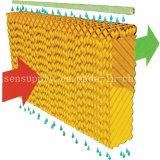 Garniture de refroidissement de ferme avicole de système agricole de refroidissement par évaporation
