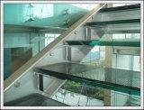 verre feuilleté clair/coloré de 6.38 - de 42.30mm pour des escaliers/balustrades/frontière de sécurité