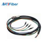 LC cable de conexión de fibra óptica resistentes al agua