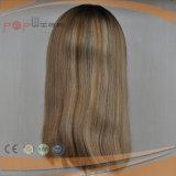 형식 Omber 매력적인 색깔 실크 최고 가발 (PPG-l-01161)