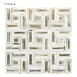 Mosaico della decorazione della parete delle mattonelle di vetro macchiato del materiale da costruzione da vendere