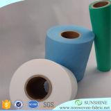 O polipropileno Spunbond Non-Woven Rolo de tecido