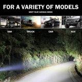 Barres bon marché duelles d'éclairage LED de la rangée 6000K 36W pour le camion de jeep tous terrains