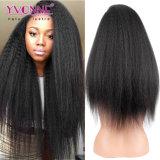 Yvonne pelo Kinky Suiza Puntilla Puntilla recta 360 peluca para las mujeres negras