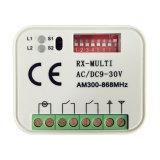 Shenzhen receptor sem fio de fábrica 2CH do Relé de Controle Remoto RF Multi Frequency Receptor RF DC/AC 9~30ainda V402PC-MF