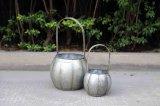鉄のホームおよび庭のための装飾的で熱い販売のプラントホールダー