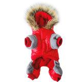 Travamento da buzina espessadas Fashion as roupas de cães de algodão cão de estimação casaco de Inverno