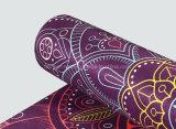 Custom моющийся цветной печати велюр Yaga коврик