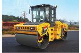 Xd142 두 배 드럼 고주파 진동하는 쓰레기 압축 분쇄기 도로 롤러