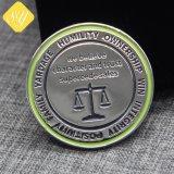 Латунные Broneze серебряный позолоченный эмаль 3D Custom монеты