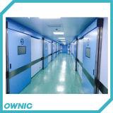 Puerta deslizante hermética automática de acero del hospital