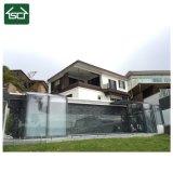 Couvertures télescopiques de piscine de polycarbonate de DIY