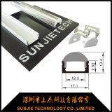 il profilo LED dell'alluminio di 2m con 60 gradi rimuove l'obiettivo