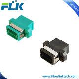 Singelmode/adaptador óptico con varios modos de funcionamiento de fibra de MPO con el borde