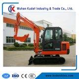 excavatrice chenillée hydraulique haute performance 4000kg avec le moteur diesel