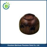 Ciotola di insalata di legno dell'acacia naturale di colore grande