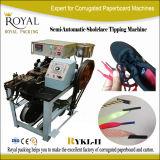 Cordón de la extremidad del negro de la maneta de la bolsa de papel de Rykl-II que inclina la máquina